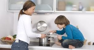 Treburile casnice pentru copii